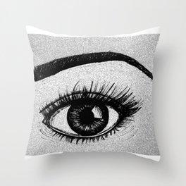 That Eyes Throw Pillow