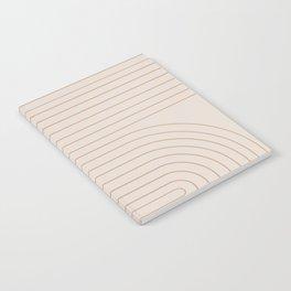 Minimal Line Curvature - Natural Notebook