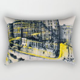 Flatiron Mixed Media Rectangular Pillow