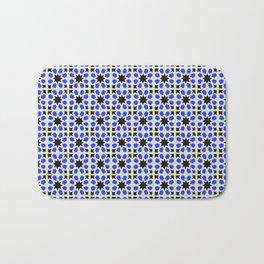Azulejo, Geometric Pattern Bath Mat