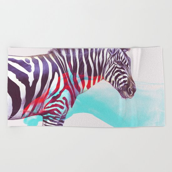 Adapt to The Unknown #society6 #decor #buyart Beach Towel