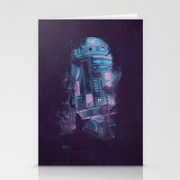 r2d2 Stationery Cards featuring R2D2 by Sitchko Igor