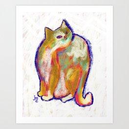 Stray Cat I Art Print
