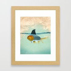 perfect disguise Framed Art Print