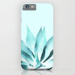 Aqua Solar Agave iPhone Case