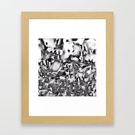 Lapwing in Disguise Framed Art Print
