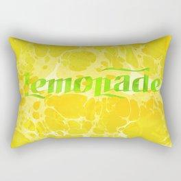 Fresh Lemonade - Abstract Digital Arwork Rectangular Pillow