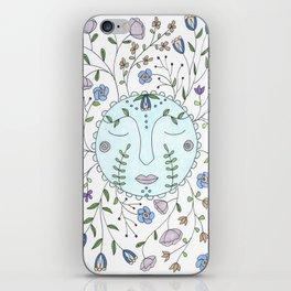 Chanson de la lune bleue iPhone Skin
