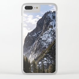 First Mountain Light Clear iPhone Case