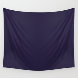 Dark Eclipse Blue Fashion Color Trends Spring Summer 2019 Wall Tapestry