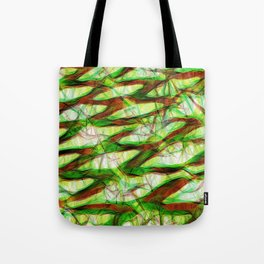 Colorful geometric modern abstract Tote Bag