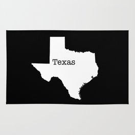 Cartography of the famous State of Texas Rug