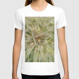 Dandelion Fluff Seed Pod Flower Pland Weed Summer T-shirt