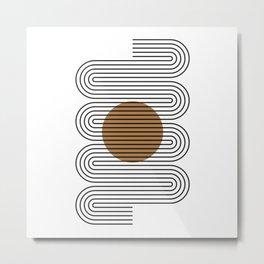 Minimalist Arch No.6 Metal Print