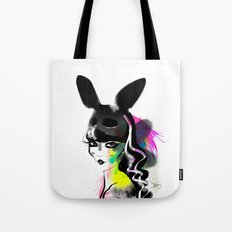 Bunny gone Tote Bag