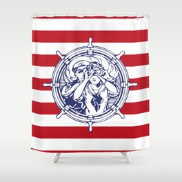 Sail Away With Me Shower Curtain