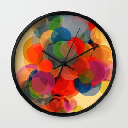 Abstract Composition 452 Wall Clock