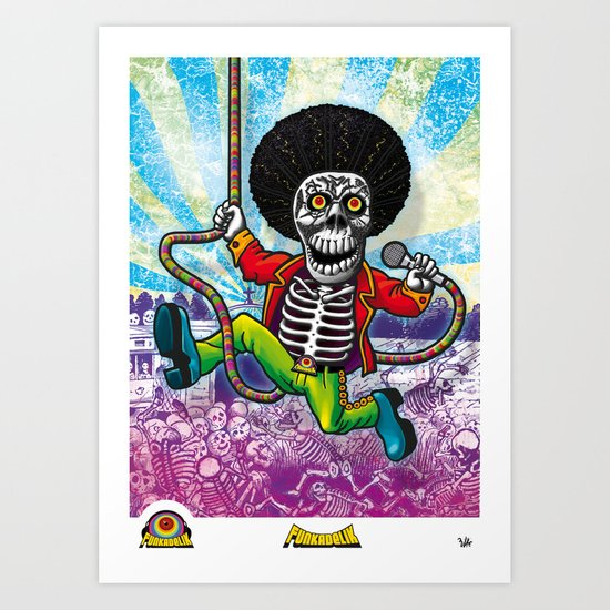 Poster Funkadelik Art Print