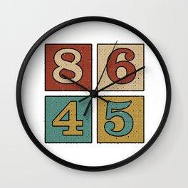 86 45 Wall Clock