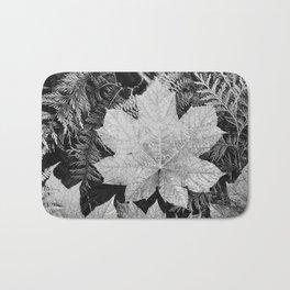 Ansel Adams - Leaves Bath Mat
