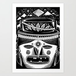 The chola Art Print