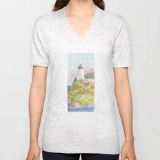 Peaceful Lighthouse II Unisex V-Neck