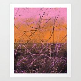 Anthemoessa 14 Art Print