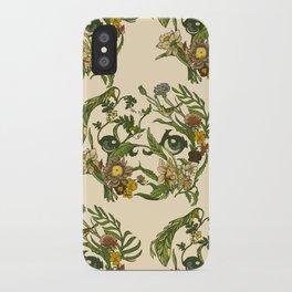 Botanical Pug iPhone Case