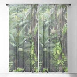 Hawaiian Rainforest Sheer Curtain