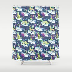 Fly into my dreams Shower Curtain