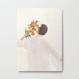 Floral Gift Metal Print