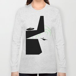 space attack Long Sleeve T-shirt