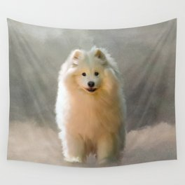 More Snow Please Wall Tapestry
