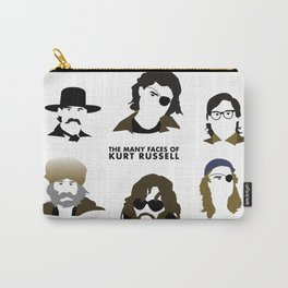 Many Faces of Kurt Russell Carry-All Pouch