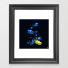 Tron Wall Framed Art Print