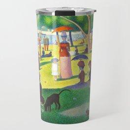 Georges Seurat A Sunday On La Grande Jatte Travel Mug