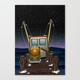The Work of Saphron Burrows Canvas Print