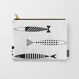 Line of fish Carry-All Pouch