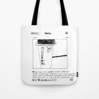 instagram Tote Bags featuring instagram fucker by Jonathan Evans
