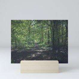 German forest Mini Art Print