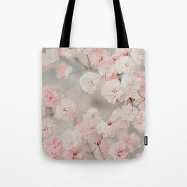 Gypsophila pink blush Tote Bag