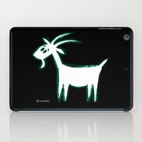 goat iPad Cases featuring Goat by ANNA MAKAĆ -  folk designs