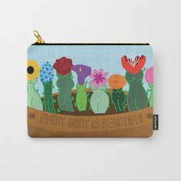 Every Body Is Beautiful Carry-All Pouch