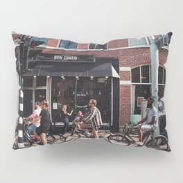 Daily life in Amsterdam Pillow Sham