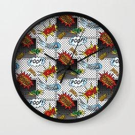 Onomatopoeia! Wall Clock