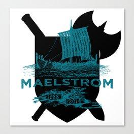 Maelstrom Design Canvas Print