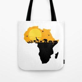 Africa Tote Bag