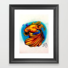 Life In A Bubble Framed Art Print