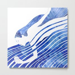 Water Nymph LXV Metal Print