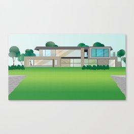 Modern Home No.1 Canvas Print